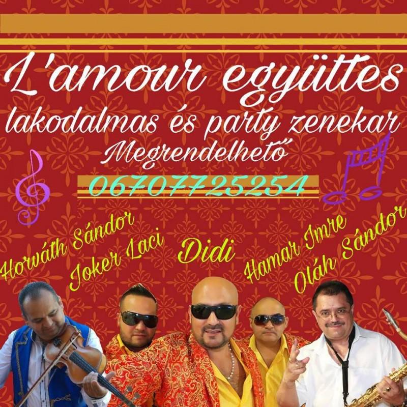 esküvői ceremóniamester,  | Didi L'amour együttes